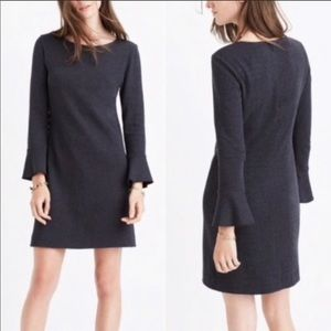 Madewell Dress with Bell Sleeves